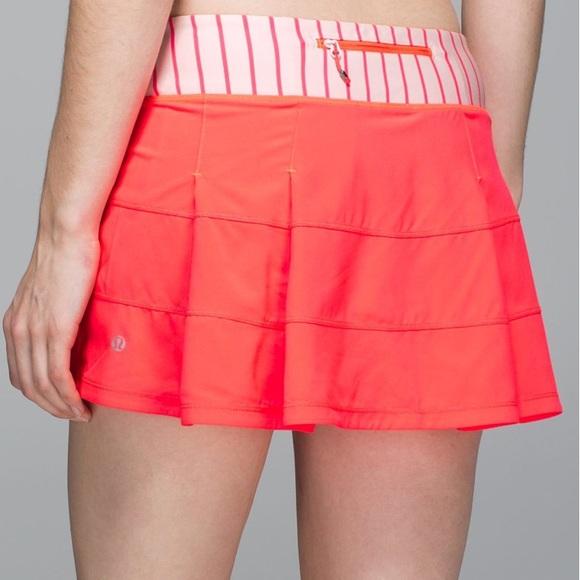 lululemon athletica Dresses & Skirts - New Lululemon Pace Rival Skirt II *4-way Stretch